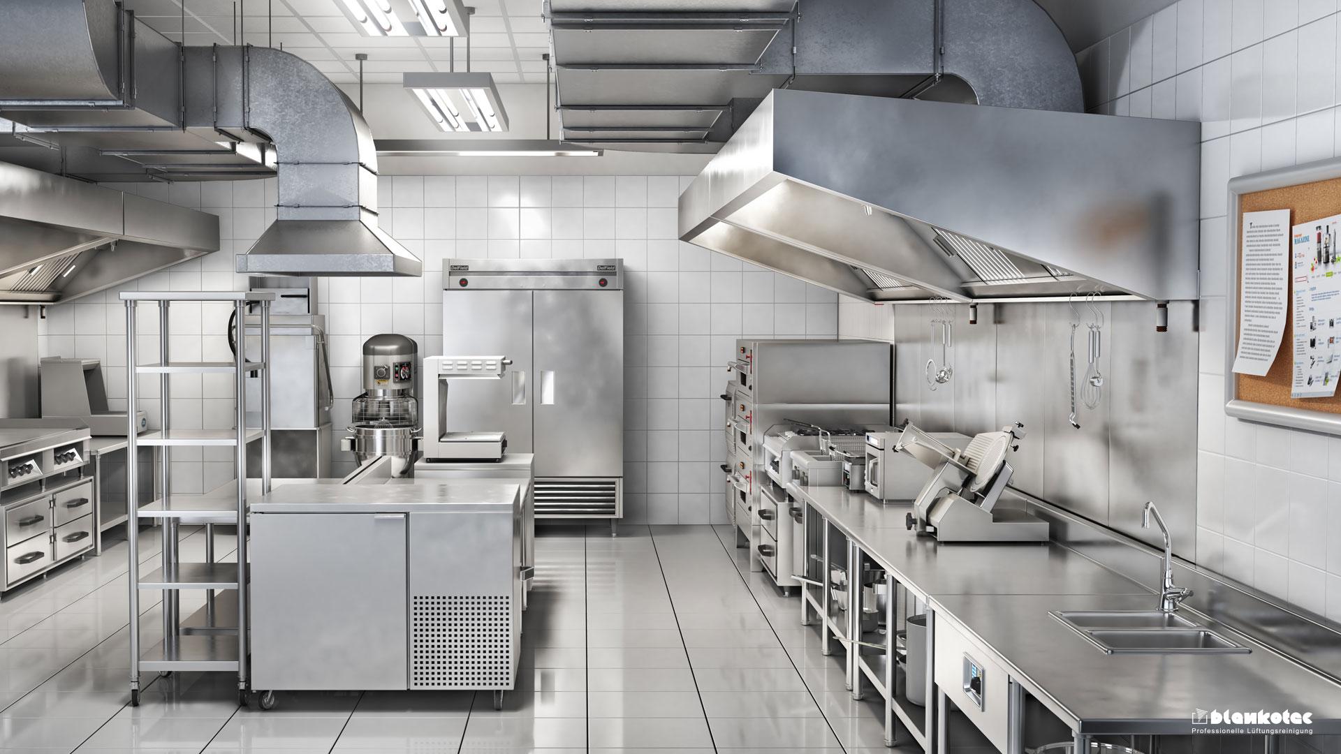 Blankotec Corona Gastro Küchen Desinfektion